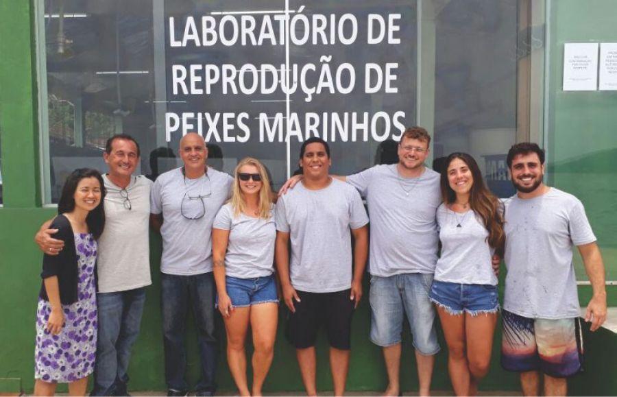 Laboratório de reprodução de peixes é inaugurado em Ilha Grande